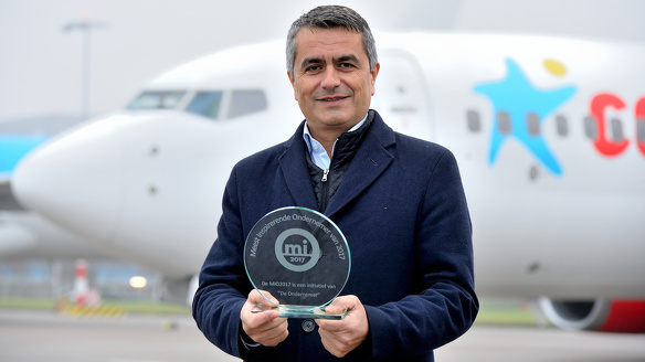 Corendon atilay uslu meest inspirerende ondernemer award
