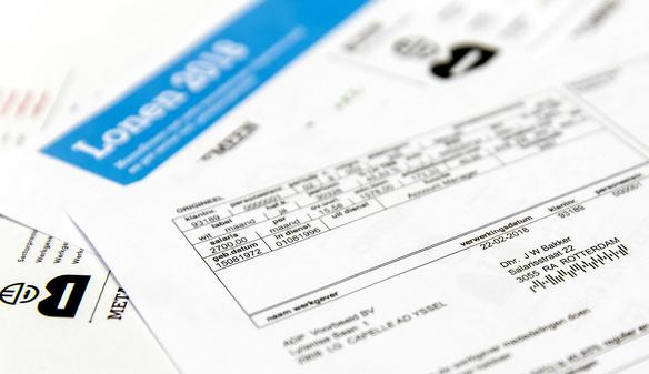 Nieuwe werknemer sollicitatie procedure loonstrook loonstrookje inleveren arbeidsvoorwaardengesprek verzoek 1