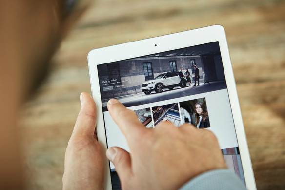 Volvo care service businessmodel