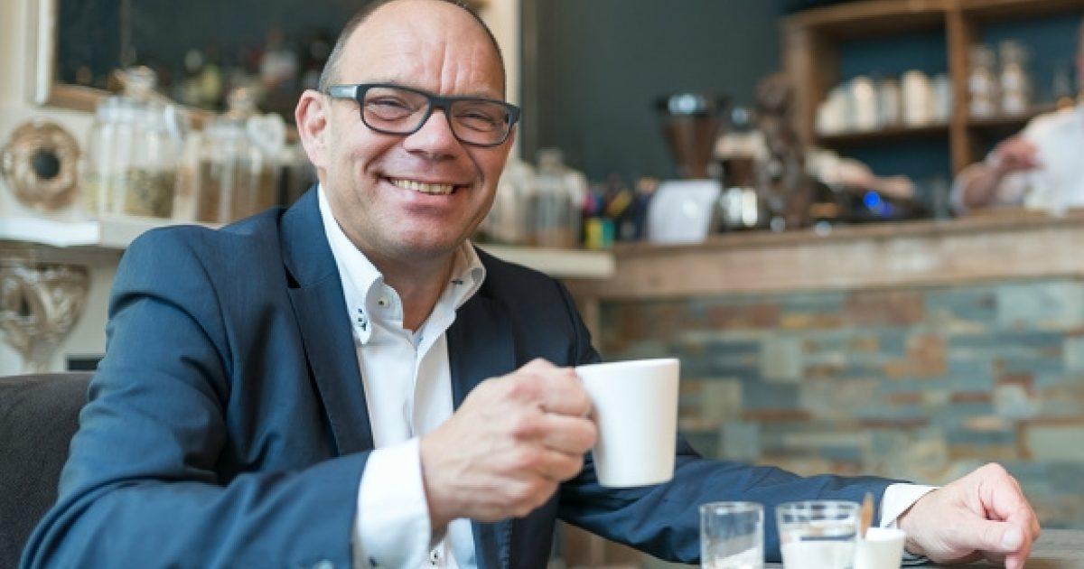 Wethouder marcelwillemsen koffie 20171