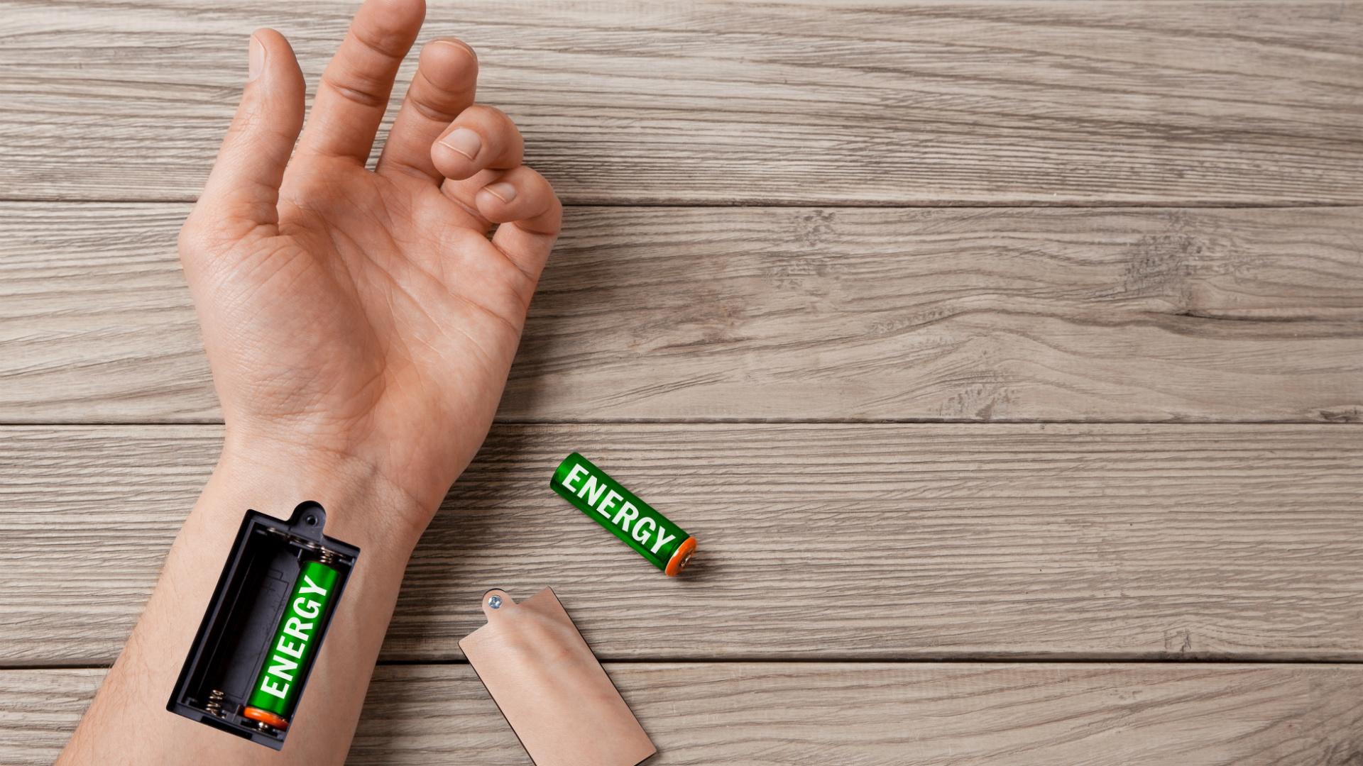 Energie batterij hand ONVZ