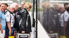 Oad busreis heracles supporters Lars Smook