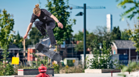 Skaters bij Rabobank Kilian Gool