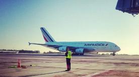 Airfrance takeoff middelgroot