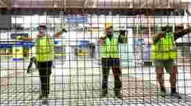 Bouwend nederland bouwvakkers groot