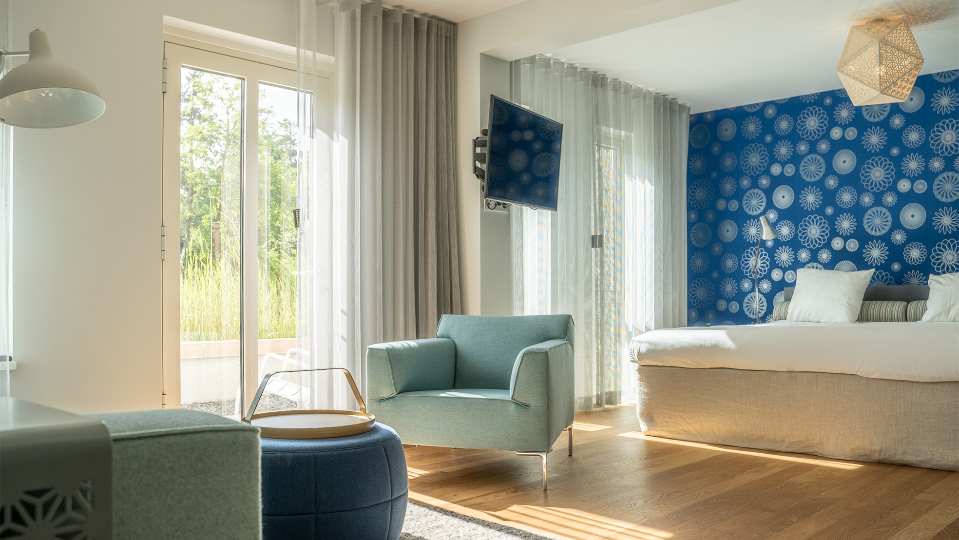 Kamers waterfrontsuite blooming