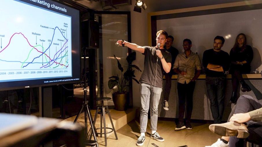 Max van den ingh unmuted de ondernemer scherm