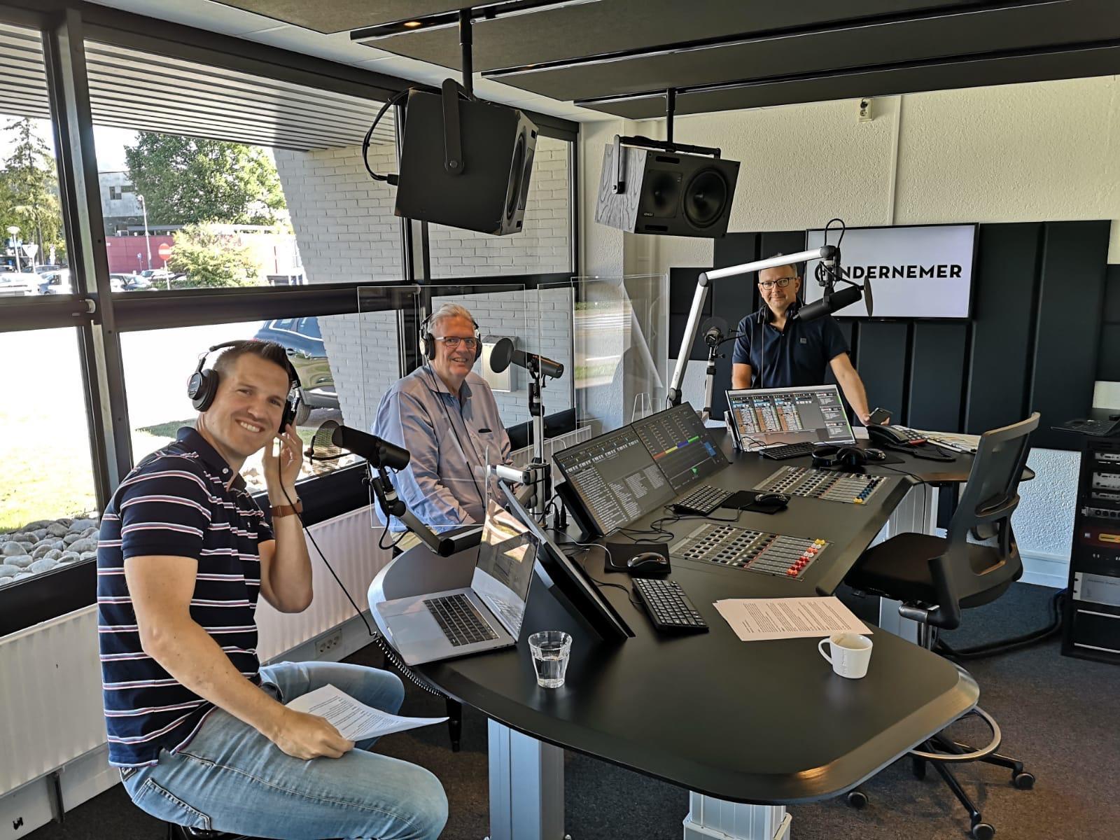 Podcast corona vandijk rutgers studio
