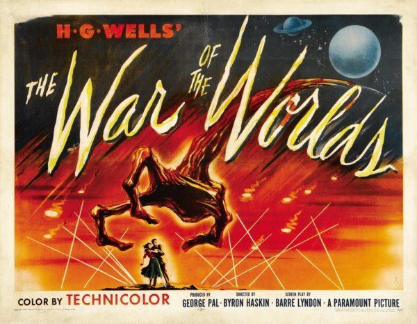 Poster war of the worlds wells
