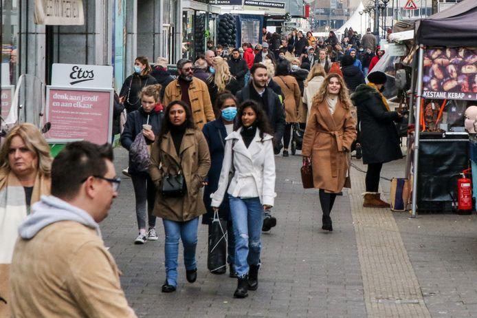 Rotterdam corona winkels dicht