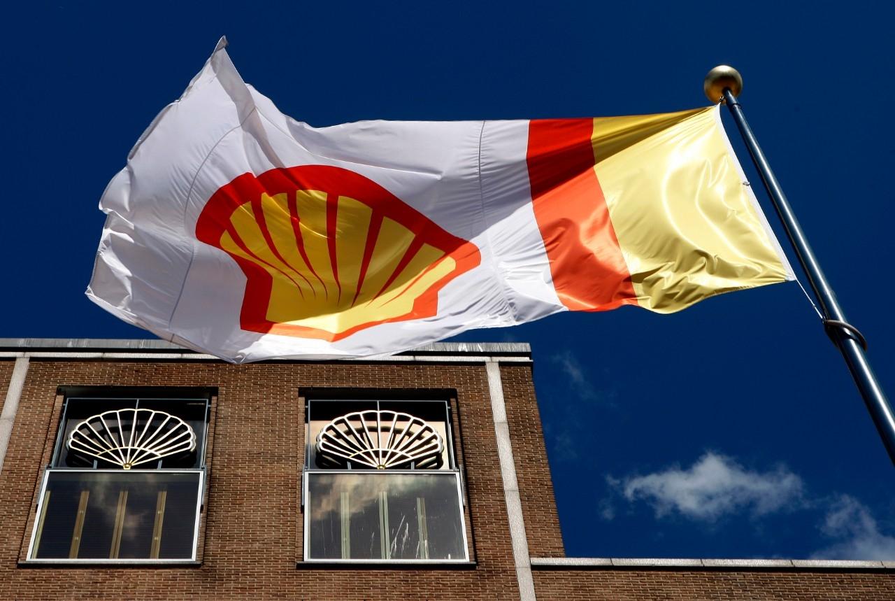 Shell vlag