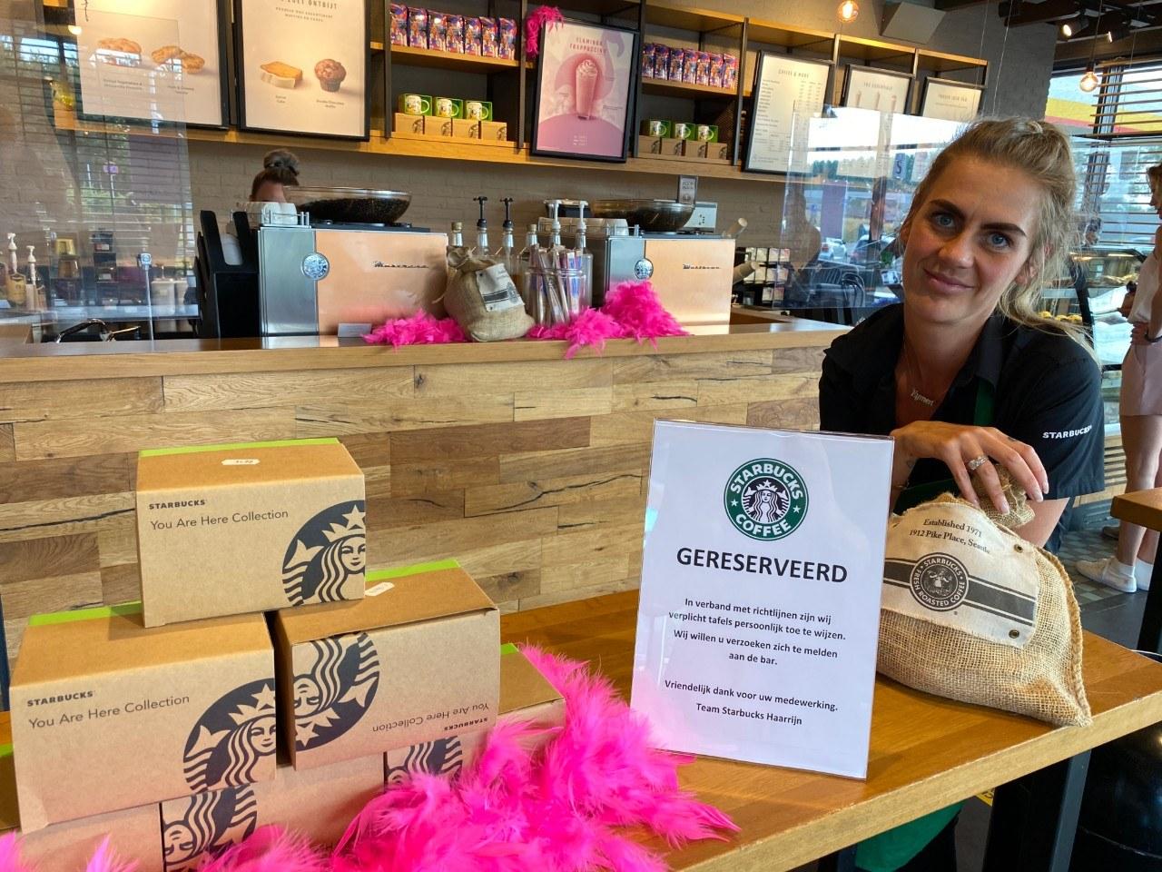 Starbucks koffie snelweg A2 corona