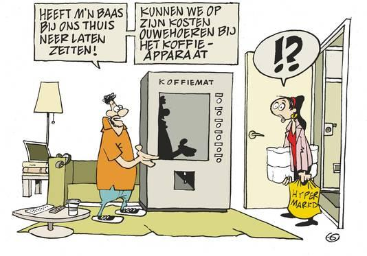 Strip koffie doorzon