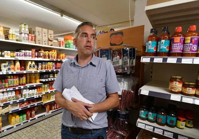 Supermarkt coronamaatregel sluiting
