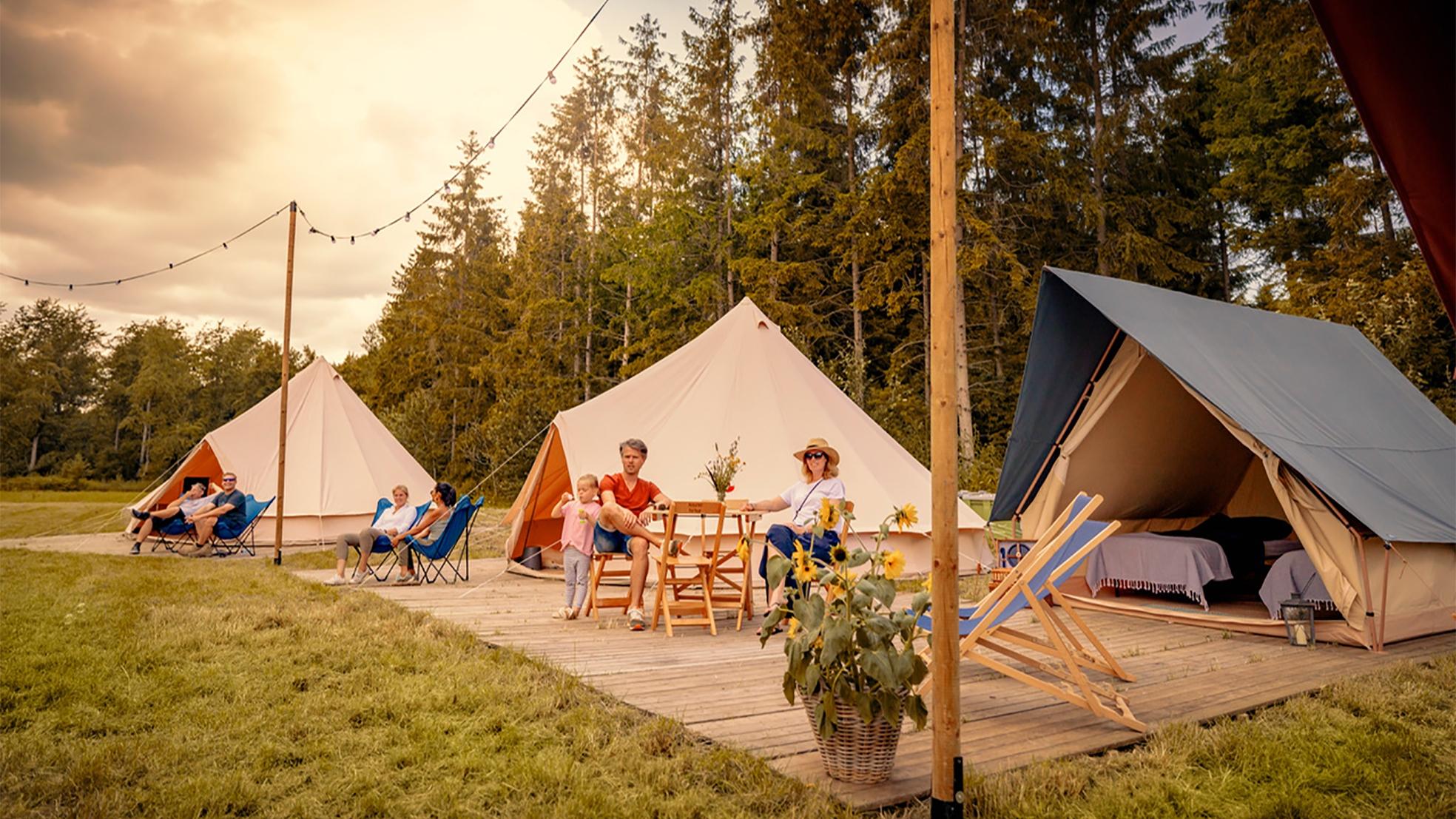 Tenten bedrijf LIFFIN camping