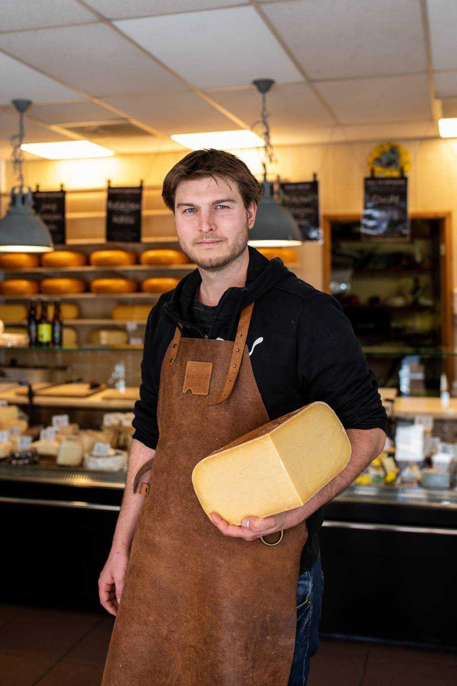Trouwe klanten kopen grotere stukken kaas