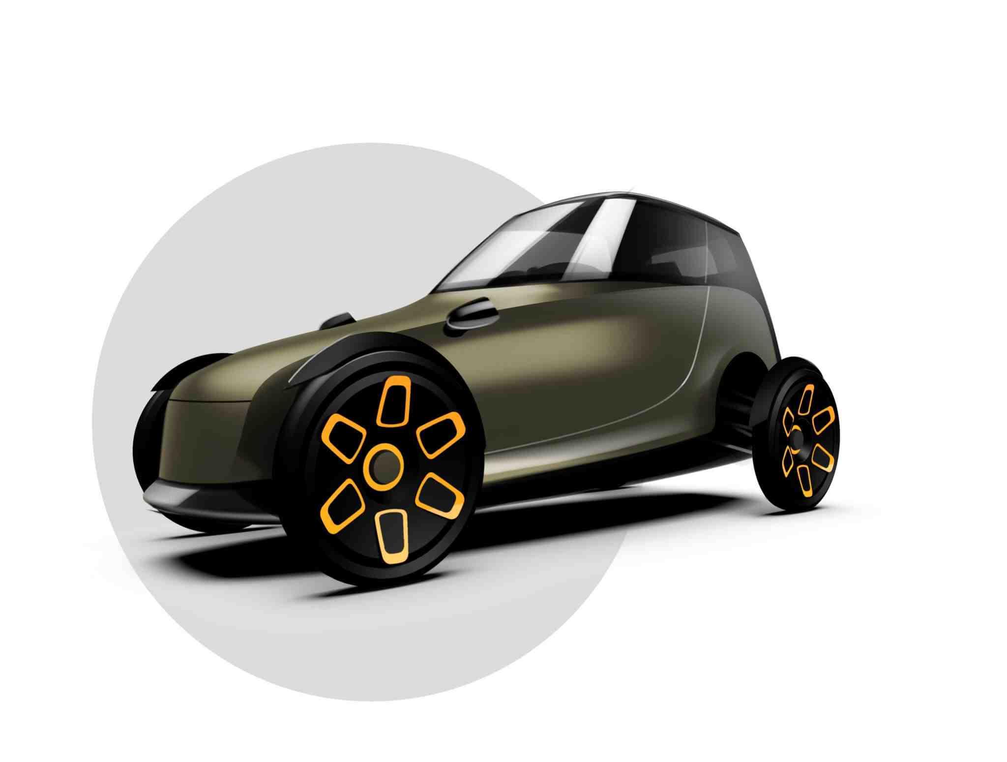Yks1 schets microauto mobiliteit