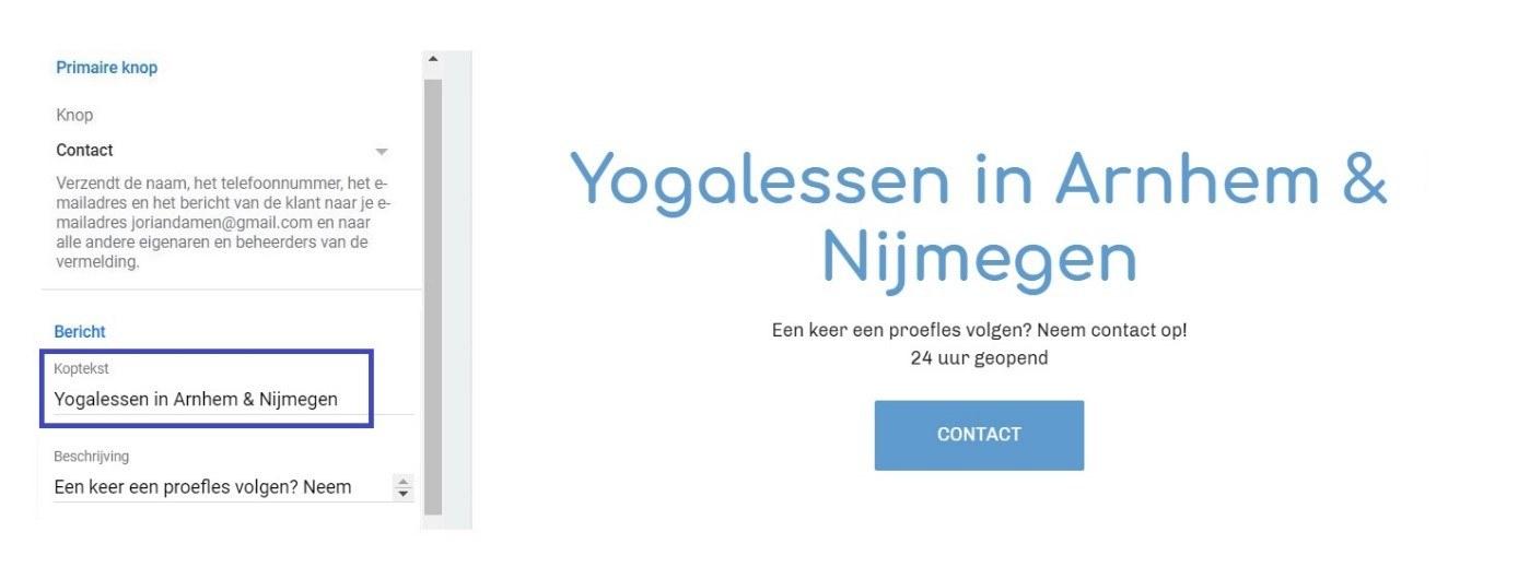 Yogalessen zonder beeld