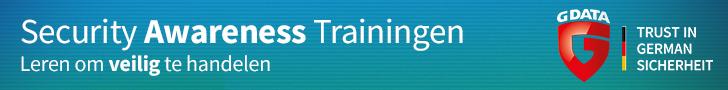 G DATA Banner CDA Awareness Training d VO 728x90 NL