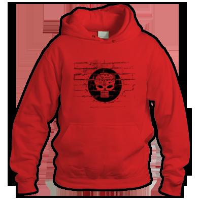 System Machine Wall Logo Hoodie