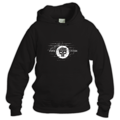 System Machine Wall Font Logo Hoodie