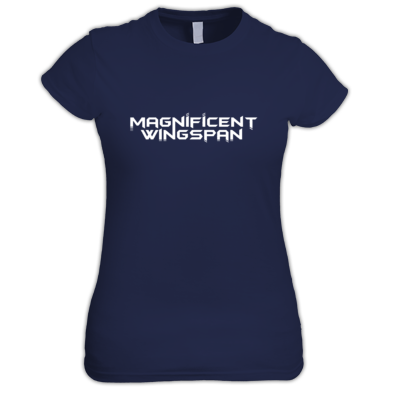 Magnificent Wingspan Simple Women's T-Shirt