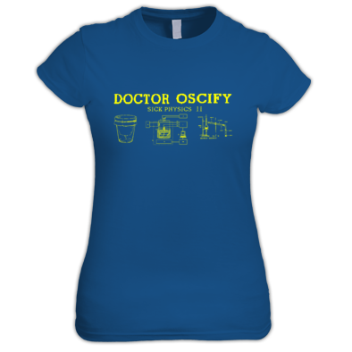 Doctor Oscify Sick Physics 2 Women's T-Shirt