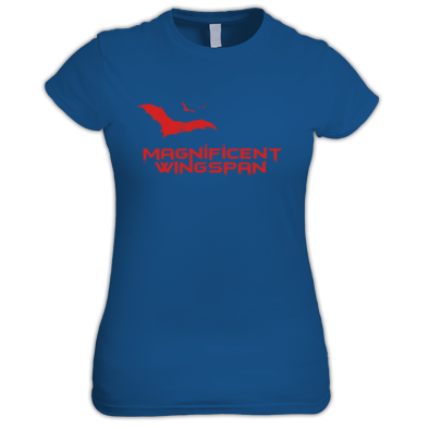 Magnificent Wingspan Bats Women's Tee