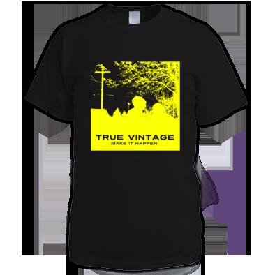 True Vintage Make it Happen One Color Tee