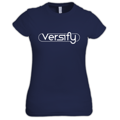 Versify Loop Letters Women's Tee
