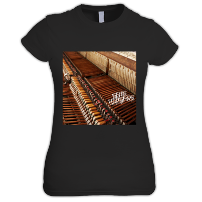 True Vintage Full Color Women's Piano Tee
