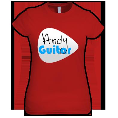 Andy Guitar Logo Womens