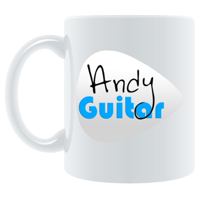 Andy Guitar Logo Mens