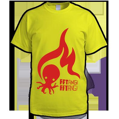 FFTANG! FFTANG! octofire tee