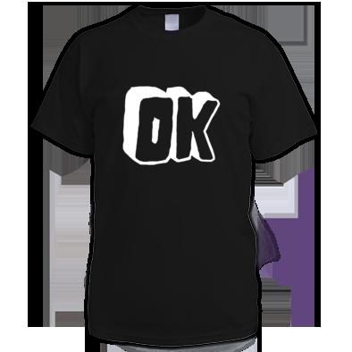 White OK Logo