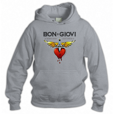 Bon Giovi Hoody (Black Print)
