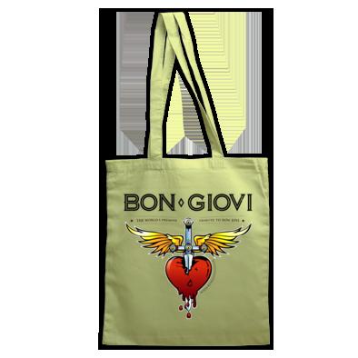 Bon Giovi Bag (Black Print)