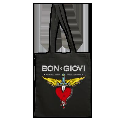 Bon Giovi Bag (White Print)