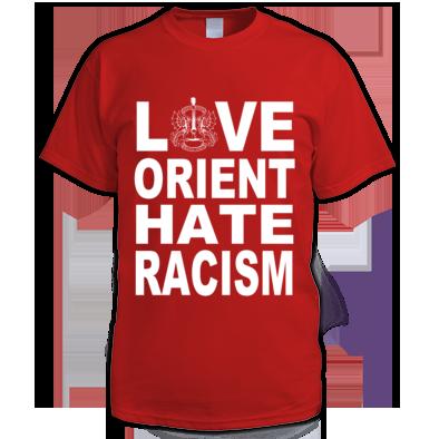 Love Orient Hate Racism