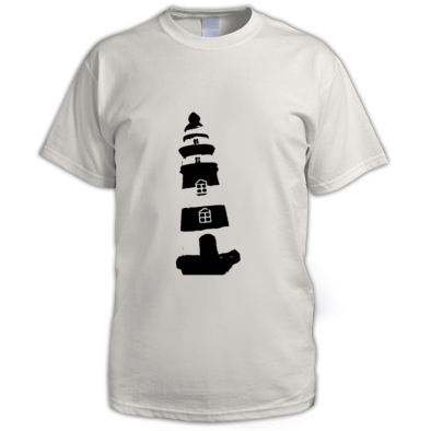Lighthouse (Men's T-shirt) - Sublet Basement Official