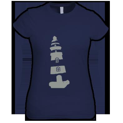 Lighthouse (Women's T-shirt)  - Sublet Basement Official