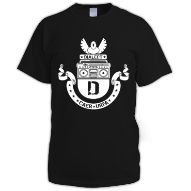 dialect logo tee