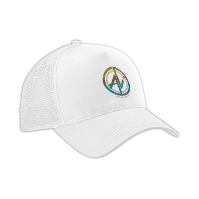 """Allie V: """"Rep"""" Snapback Hat [WHT]"""