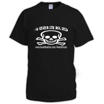 4WARD Skull men t-shirt