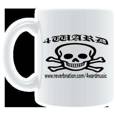 4WARD Skull mug