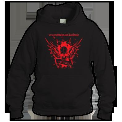 4WARD Skull banner hoodie