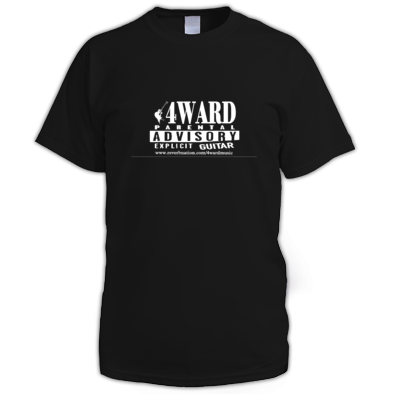 4WARD Explicit Guitar Men T-Shirt