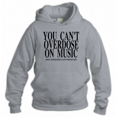 You can't overdose on music Hoodie