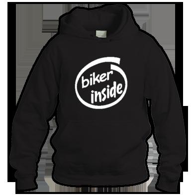Biker Inside Hoodie