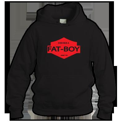 Fat Boy biker Hoodie